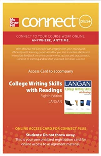 Writing skills download ebooks absolutely for free e books in kindle store connect langan 20 plus access card for college writing skills with readings pdf 0077348907 fandeluxe Choice Image