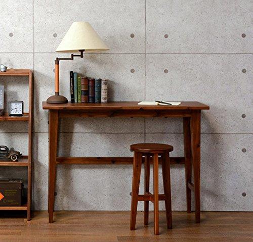 コンソールテーブル テーブル ハイテーブル カウンターテーブル デスク 木製 ブラウン おしゃれ B079MJHCV7