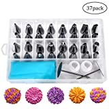 Best Decoration Tips - Cake Decoration Tips Set of 37 - Professional Review