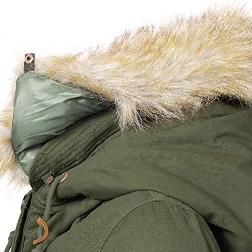 Para Abrigo Abrigo Para Mujer Navahoo Mujer Verde Navahoo Verde Para Navahoo Abrigo qFwXSzF