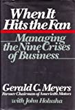 When It Hits the Fan, Gerald C. Meyers and John Holusha, 0395411718