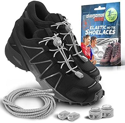 Cordones elásticos para zapatos para adultos y niños – sin ...