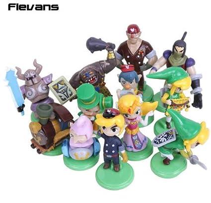 XTOY The Legend of Zelda - Set 12 Figuras Huevos 3,5-5,5 cm ...