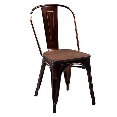 MJK Sillas y taburetes, silla de comedor antigua vintage ...