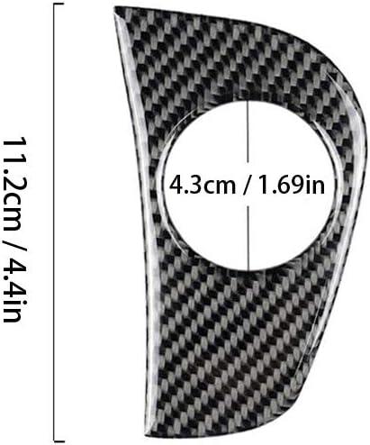 JUST N1 Car Start Switch Trim for Subaru Forester XV Crosstrek WRX STI 2015-19 Carbon Fiber Start Switch Cover Trim