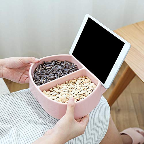 Candy Dish Nut & Snack Bowl with Tablet Phone Holder