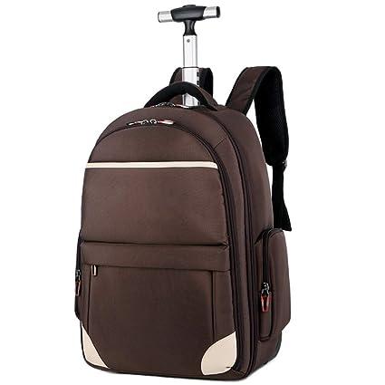 Maletas con equipaje de mano aprobadas para el vuelo de la mochila con trolley, maleta