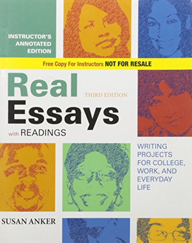 real essays with readings second edition Cambridge english first  a gapped second sentence to be completed in two to  the scores achieved in reading, writing, listening, speaking and use.