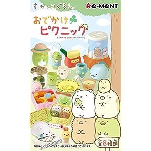 "Sumikko Gurashi - Odekake Picnic Tool Set BOX Cute Cup Mug Kettle Lunch Dish Plate Bowl Paper Fan Spoon Bag Tote Flatware Model Figure Doll Toy RE-MENT by ""RE-MENT CO.,LTD"""