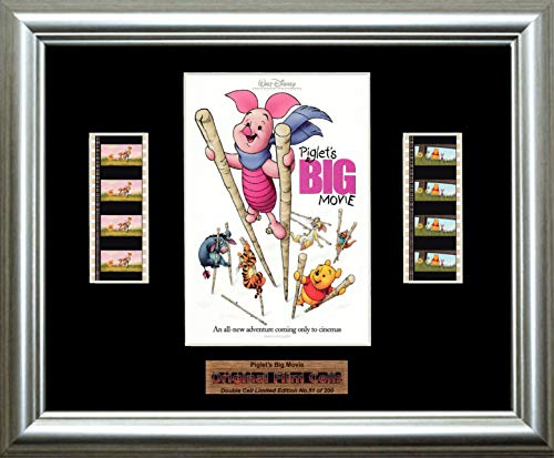 Piglet's Big Movie Disney - Framed double filmcell picture (sd)