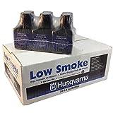 Husqvarna Low Smoke 2 Cycle Oil 2.6 oz - Case 24 Bottles 50:1 Gal Mix