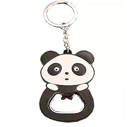 Amazon.com: kangkang @ Lovely Panda abrebotellas llavero ...