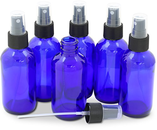 SimpleHouseware Cobalt Glass Bottles Sprayer