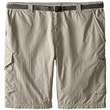 Columbia Sportswear Men's Big and Tall Silver Ridge Cargo Shorts, Tusk, 52 x 12
