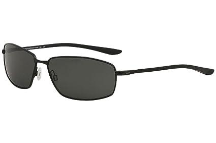 ac2317559f Amazon.com  Nike EV1093-001 Pivot Six P Frame Polarized Grey Lens ...