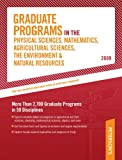 Graduate Programs in the Physical Sciences, Mathematics, Agricultural Sciences, the Environment, and Natural Resources 2009, Peterson's, 0768925657