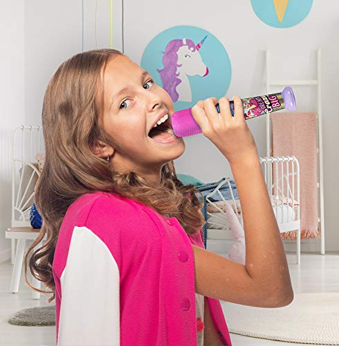 eKids JoJo Siwa Sing Along MP3 Microphone with Built in Sound Effects Can Connect to Your MP3 Player and Sing to Whatever You Like by eKids (Image #3)