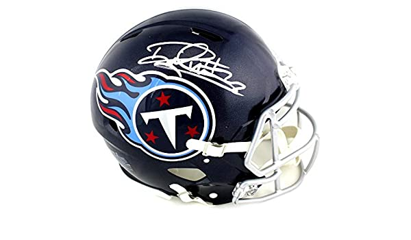 Amazon.com  Derrick Henry Signed Helmet - Riddell Full Size Authentic Blue  Speed - Autographed NFL Helmets  Sports Collectibles 3210cf18e