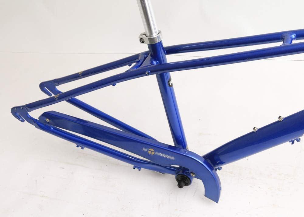 Extras Blue New Torker T300 14 Aluminum Cruiser 700c Bike Frameset