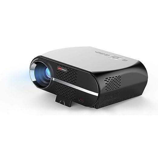 JackeyLove Mini proyector casero, proyector Video de 2000 ...