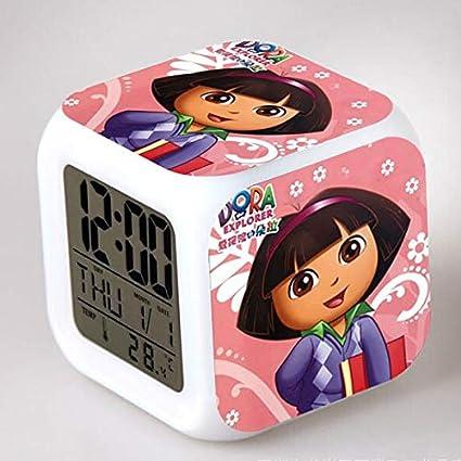 Amazon.com: Dora The Explorer LED Alarm Clock reloj ...