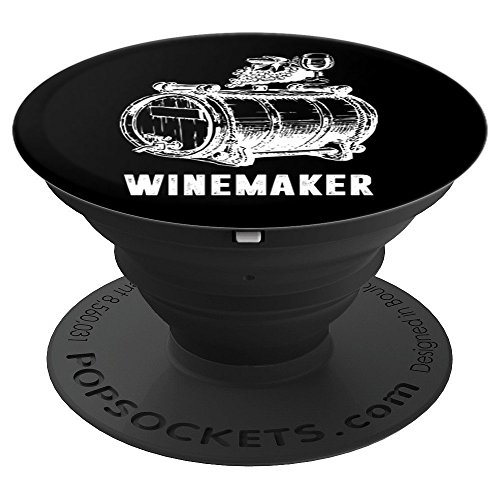 Winemaker Professions Awesome Gift - PopSockets Grip and Stand for Phones and Tablets ()