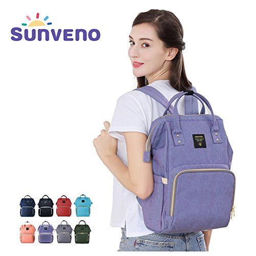 SUNVENO Insulated Backpack Waterproof Changing product image