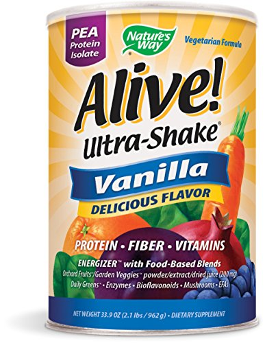 Nature's Way Alive! Pea Shake Vanilla - Alive Multivitamin Ultra Shake