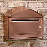 Naiture Locking Wall-mount Mailbox in Antique Copper