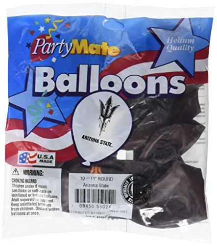 Pioneer Balloon Company 10 Count Arizona State Latex Balloon  11   Multicolor