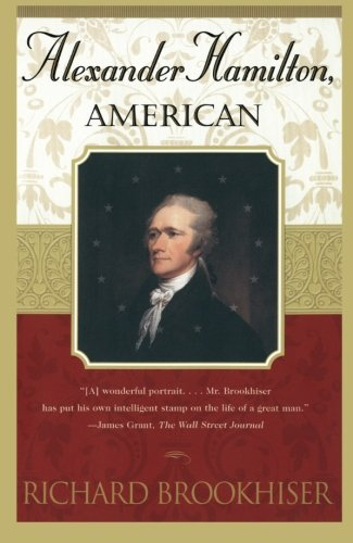 Book cover for Alexander Hamilton, American