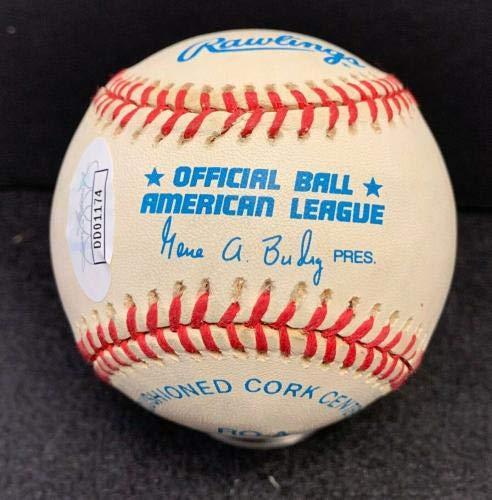 64e07f9a3de Autographed Earl Weaver Ball - Official American League Cert - JSA Certified  - Autographed Baseballs at Amazon s Sports Collectibles Store