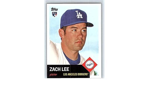 Autographs-original Smart Zack Lee Dodgers Autographed Official Major League Baseball #1