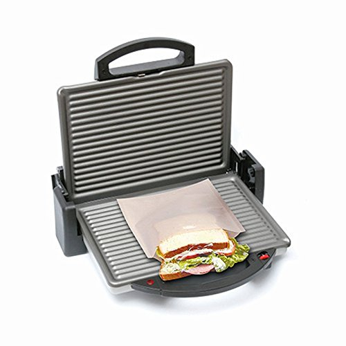 ekSel Non Stick Reusable Toaster Bags, Pack of 6 by ekSel (Image #4)