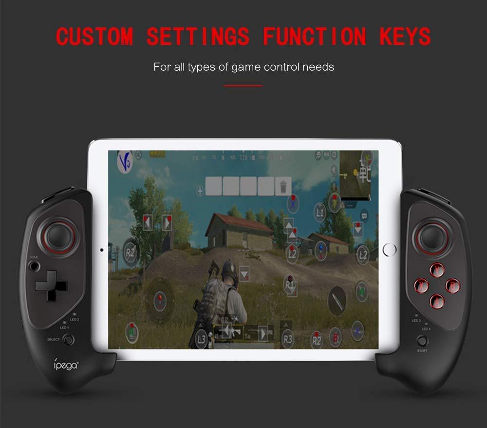 IPEGA PG-9083S Wireless4.0 Wireless Gamepad Trigger Pubg Controller Mobile Joystick Compatible Phone8//XR//XS iOS Compatible Android Mobile Phone Tablet