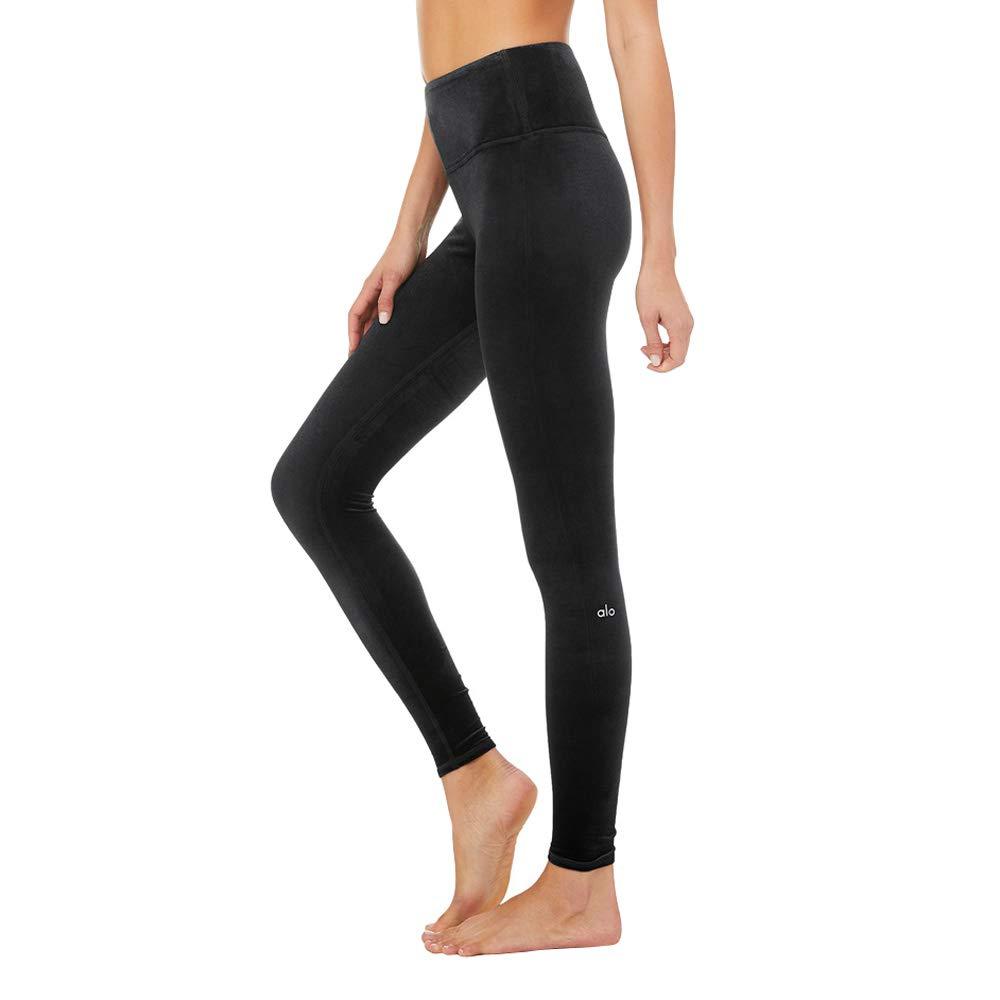 15f5b58616985 ALO Women's High-Waist Posh Leggings at Amazon Women's Clothing store: