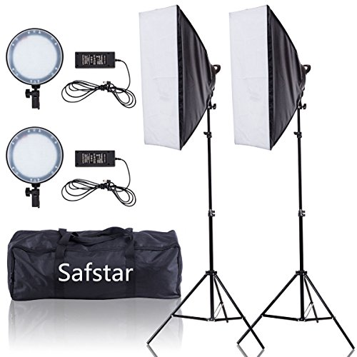 Safstar Photography Softbox LED Continuous Lighting Kit for Photo Video Studio 20''x27''(Day Light) by S AFSTAR