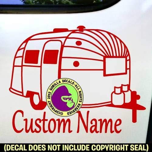 Airstream Vinyl Decal Sticker D