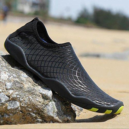 Beach D Yoga Athleisure Rápido Shoes Zapatos Secado Antideslizante Agua de Spandex Upstream Wearable Swimming de Unisex Snorkeling gH7vFRHaU