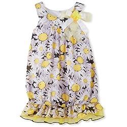 Bonnie Jean Little Girls' Daisy Bubble Dress