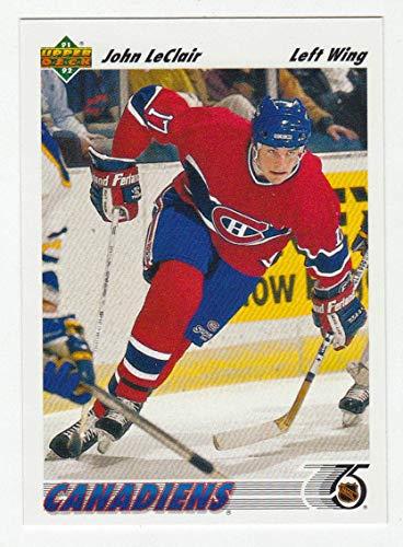 John LeClair RC (Hockey Card) 1991-92 Upper Deck # 345 NM/MT