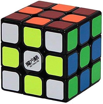 Qiyi Mofangge Thunderclap 3 x 3 Magic Speed Cube, 56 mm (Black)