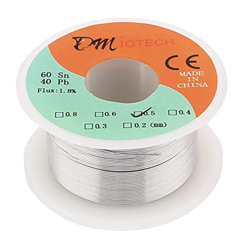 0.5mm 60/40 Tin lead Rosin Core Solder Wire Reel - 6