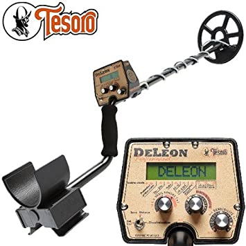 Metal Detector Tesoro DELEON: Amazon co uk: Garden & Outdoors