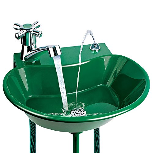2 in 1 Outdoor Water Fountain Green