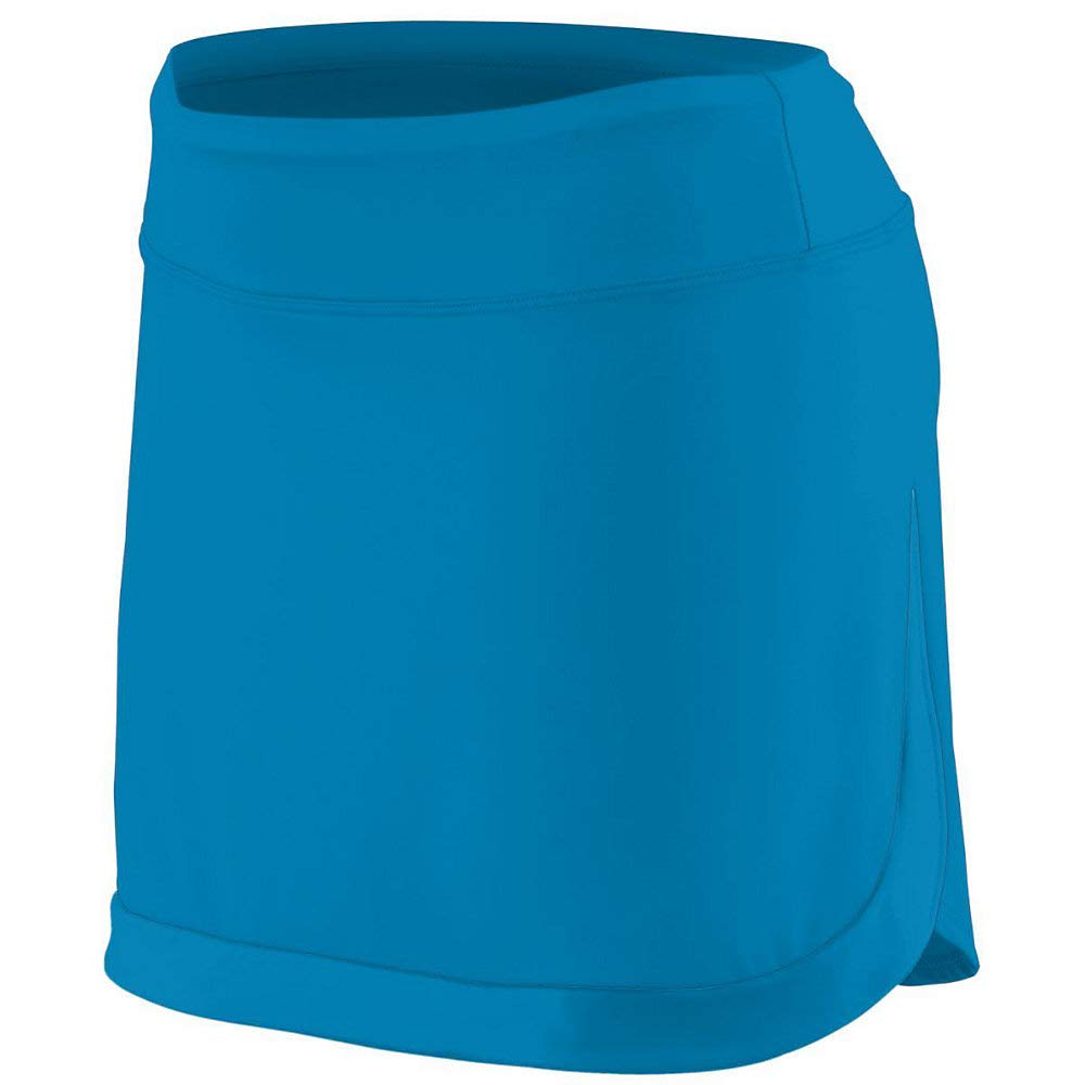 Augusta Sports Girls Medium Power Blue Skort by Augusta Sports