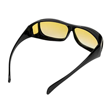 a406c4ebf9 2 Pair set HD Night Vision Wraparound Sunglasses As Seen on TV Fits OVER  Glasses