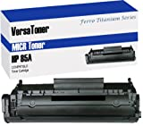 VersaToner - 85A CE285A MICR Toner Cartridge for Check Printing - Compatible with LaserJet P1102w, P1109w, M1212nf, M1217nfw