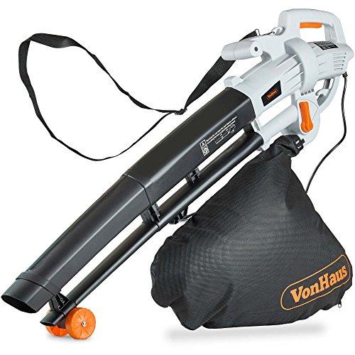 VonHaus 3 in 1 Leaf Blower - 3000W Garden Vacuum & Mulcher - 35 Litre...