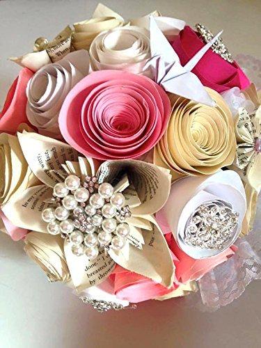 Amazon.com: The Great Gatsby bouquet, Paper flower bouquet, paper ...
